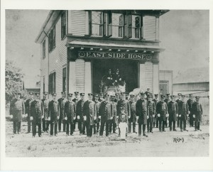 East Side Hose Company, founded by Mercer's grandfather and others.  Photo by John Rosch, White Plains Collection.