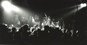 Peter Tosh performing in Boston in 1978.