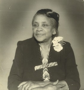Carrie Norma Hawkins, Samuel Jr.'s mother, who is described by Marcia in her oral history.