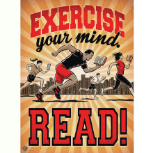 Exercise Your Mind – READ!  A new Adult Summer Reading Program