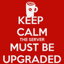 Server Upgrade Scheduled