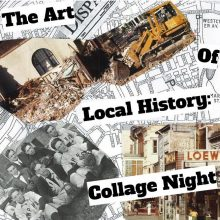 The Art of Local History: Collage Night 9/21