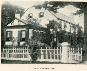 Pryer Homestead, New Rochelle, from Reminiscences, 1897