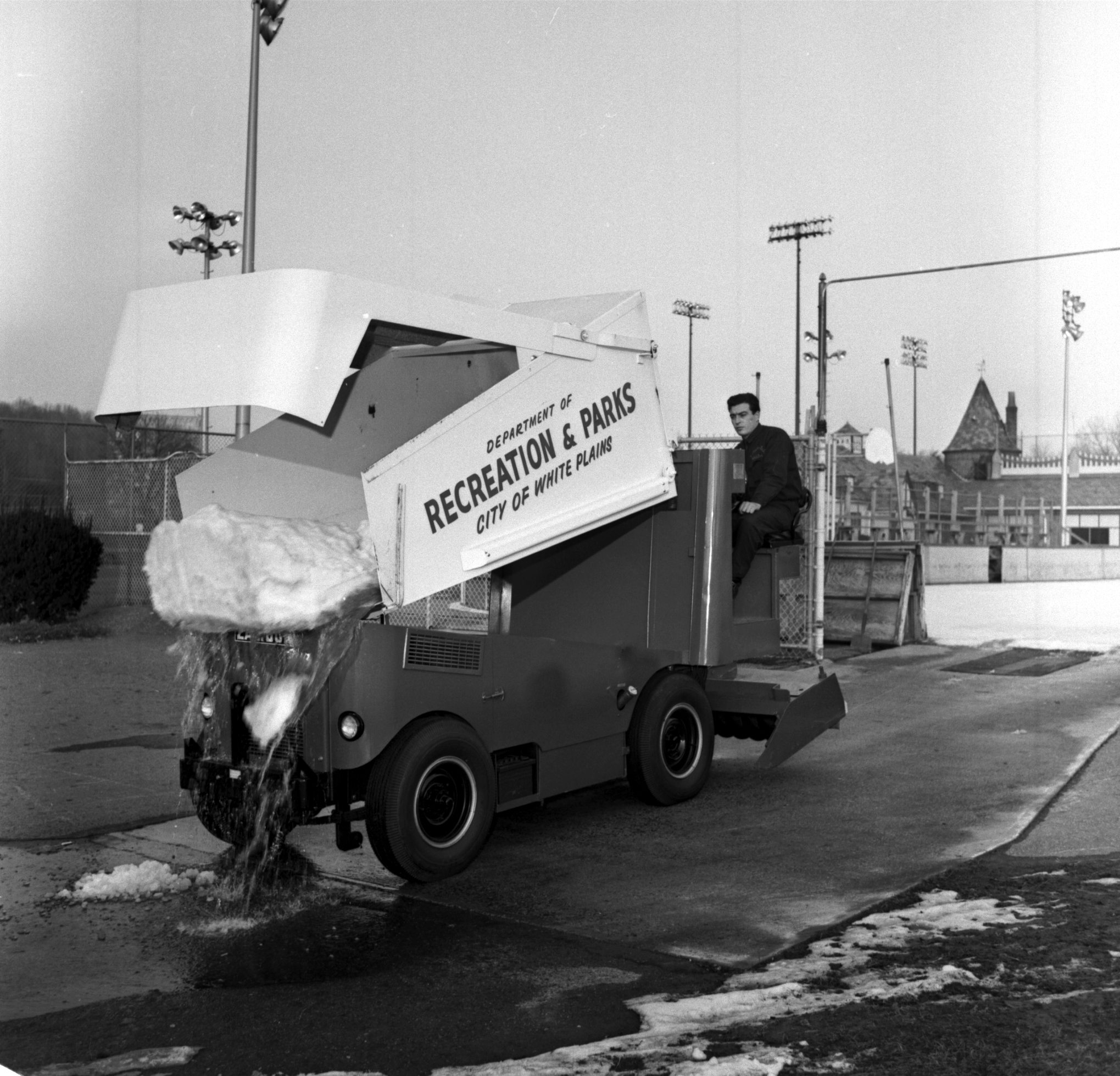 history of the zamboni Read an excerpt from cait murphy's new book a history of american sports in 100 objects.
