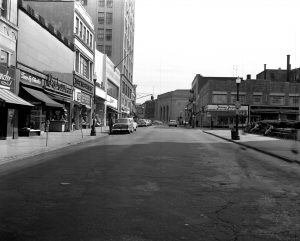 9-29-57 Court St., looking toward the intersection of Main St. and Mamaroneck Ave.