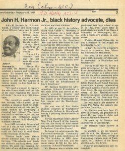 1991-2-23-HarmonObit