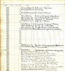 1901-3-11-AccessionBook-AcademicLibraryJointUnionFreeSchool