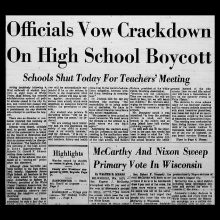 Local History: School's Out, Pt. 2