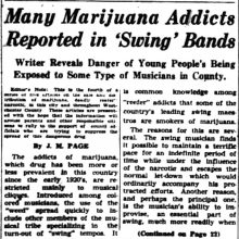 Local History: Addicts & Addiction Pt. 2