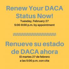 DACA Renewal Clinic