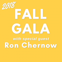 Fall Gala with Ron Chernow