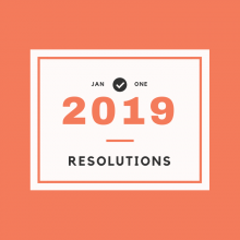 2019 Resolutions: Books & Tips