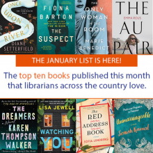 January 2019 LibraryReads