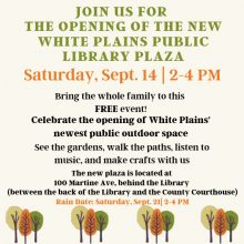 Library Plaza Grand Opening