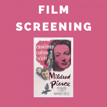 Film Screening: Mildred Pierce