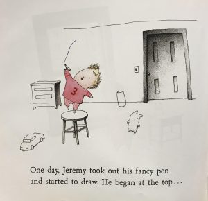 From Jeremy Draws a Monster by Peter McCarty