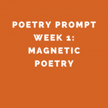 Poetry Prompt for Kids