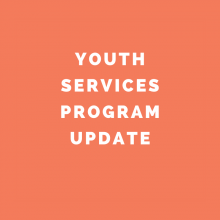 Youth Services Program Cancellations