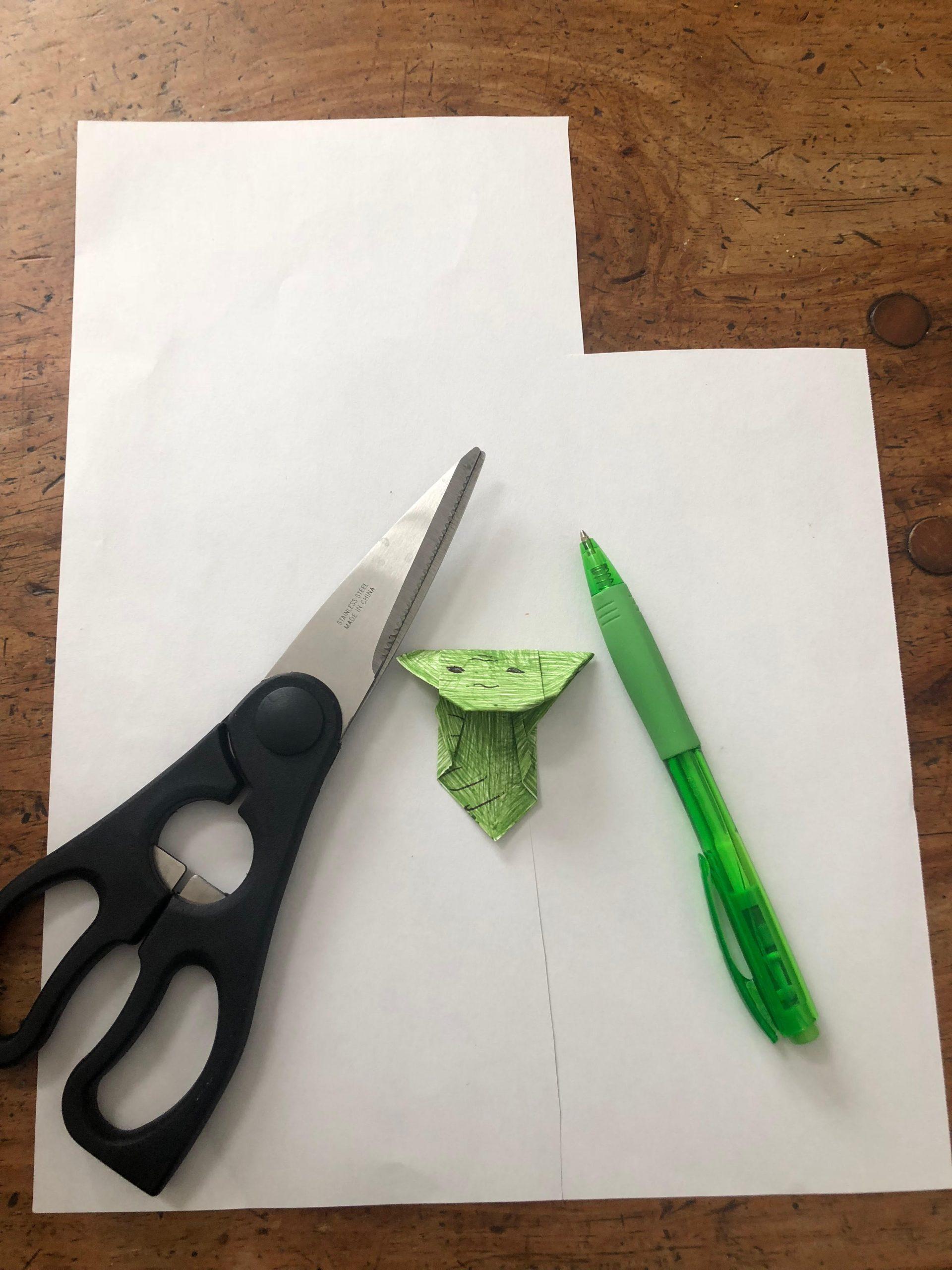 Bookmarks | Origami Yoda | 2560x1920
