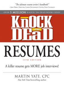 Knock Em Dead Resumes