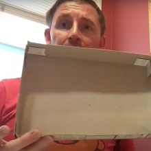 STEAM at Home: Cereal Box Maze