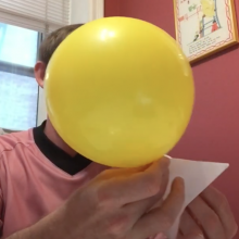STEAM at Home: Balloon Rockets