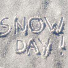 Hey Kids! It's a Snow Day!