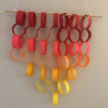 Grab & Go Grades 7-12 Kit: Paper Chain Wall Hanging