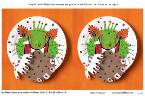 activity paper plate 6 differences printable