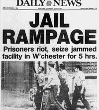 The Westchester County Jail Riots of 1981