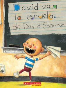 david va a escuela